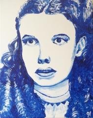 "Rob Hogan ""Dorothy"" Acrylic on Canvas, 20 x 16 inches, 2015"