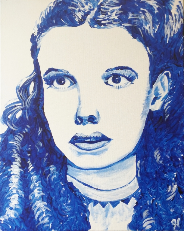 "Rob Hogan ""Dorothy"" Acrylic on Canvas, 20 x 16 inches, 2015"